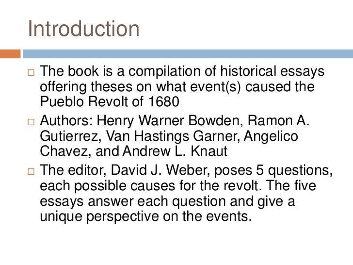 Lot Pueblo Revolt Of 1680 Essay grew become enthusiastic