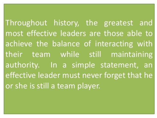 a good team player essay Here the 10 attributes of a good team  trust is a very important tool to establish in a basketball team a player can let go of that ball and pass it around if .