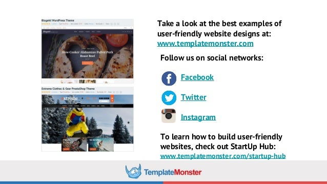 6 Ultimate Rules to Put Up a User-Friendly Website by TemplateMonster
