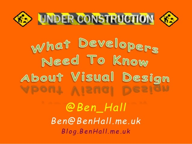 @Ben_Hall  Ben@BenHal l .me.uk  Blog.BenHal l .me.uk