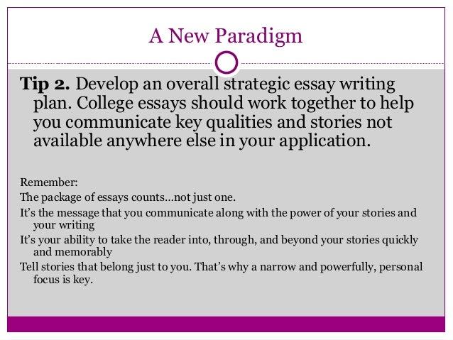 Academic paper writing format