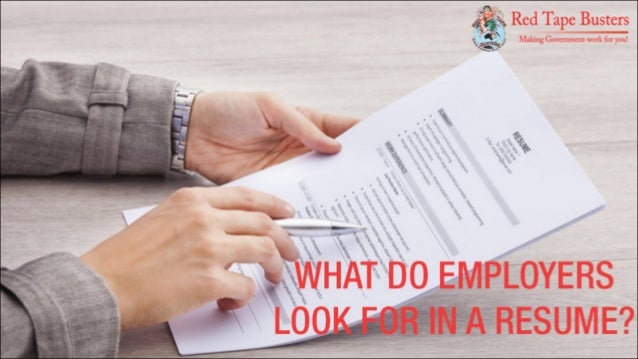 what do employers look for in a resume 1p a g e modern powerpoint presentation