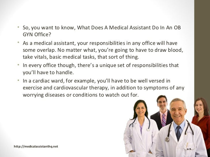 what do medical assistants do - Etame.mibawa.co