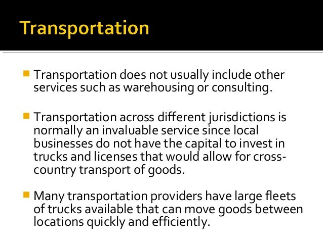 service quality in transportation and logistics measurement