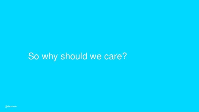 Conflict… Politics… Bureaucracy… Intransigence… @dwmkerr