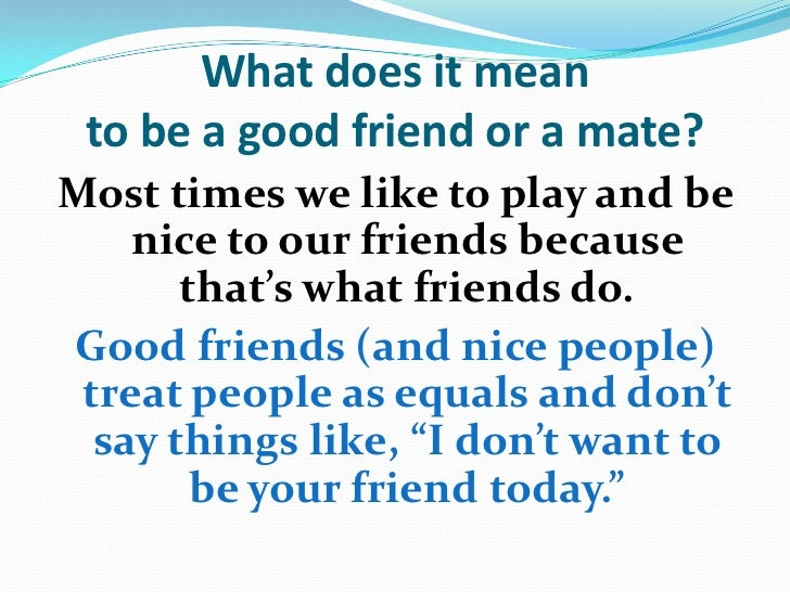 What does friends and benefits mean