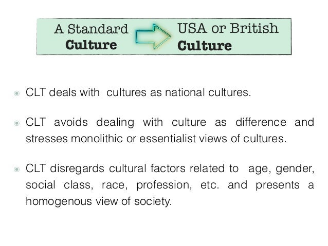 what does culture teach