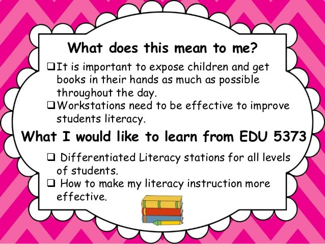 What Does Literacy Mean to You?