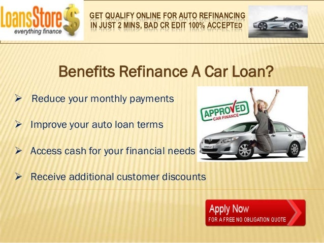 What Does Refinancing A Car Do >> What Does Refinancing A Car Loan Mean