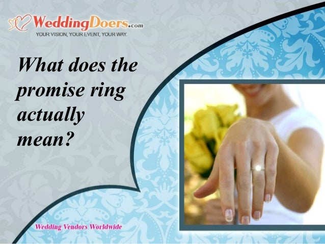 what does promise