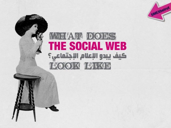 What Does The Social Web Look Like كيف يبدو الاعلام الاجتماعي