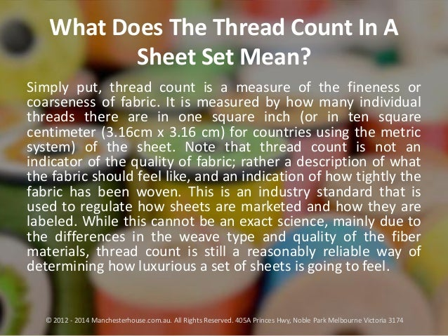 what does 200 thread count mean