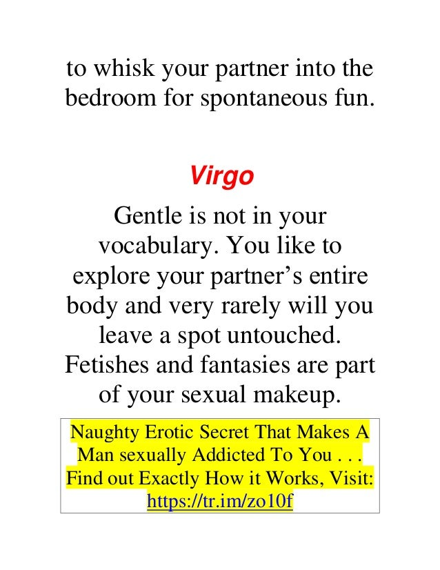 How to be spontaneous sexually