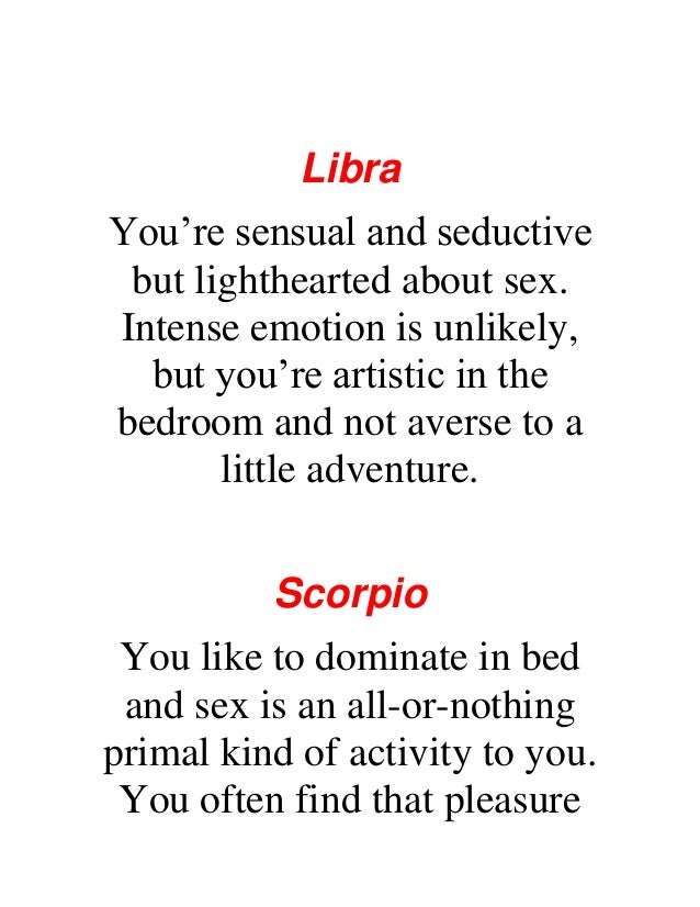 Signs bed zodiac in Zodiac Signs