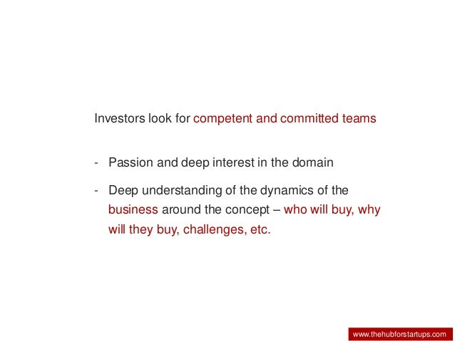 What Do Investors Want To See In A Business Plan
