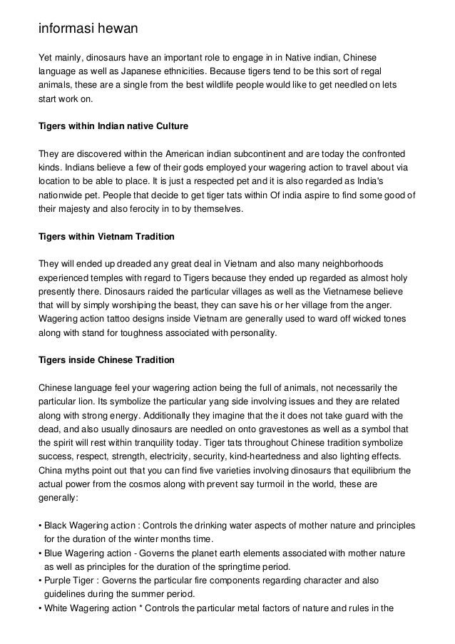 What Do Tiger Tattoos Symbolize In Eastern Cultures