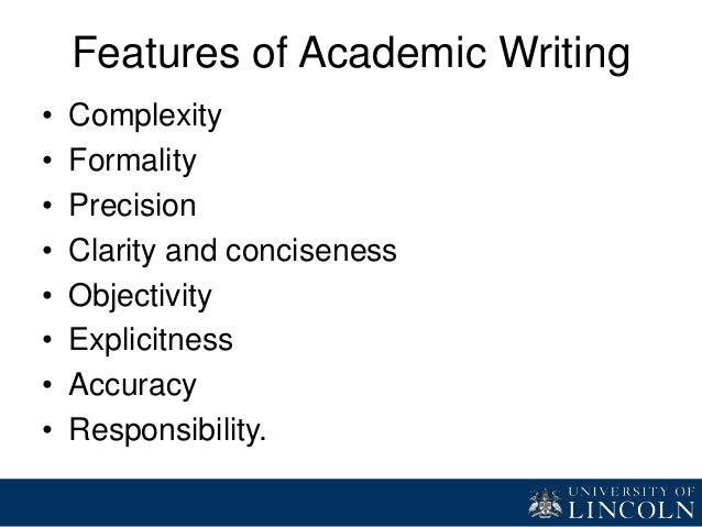 academic writing examples