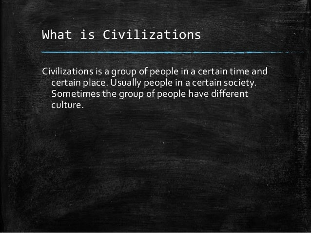 the definition of civilized in ancient civilizations One of the greatest gifts of christianity, it should be observed, and one of the most important influences in medieval civilization, was the network of monasteries which were now gradually established and became centers of active hospitality and the chief homes of such learning as was possible to the time.