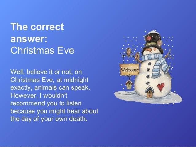 christmas eve 4 - What To Do Christmas Day