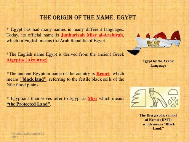 What do you know about EGYPT ? (Dec 05,2012)