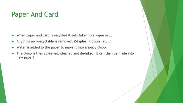 What Do Your Recycled Items Get Turned Into Slide 2
