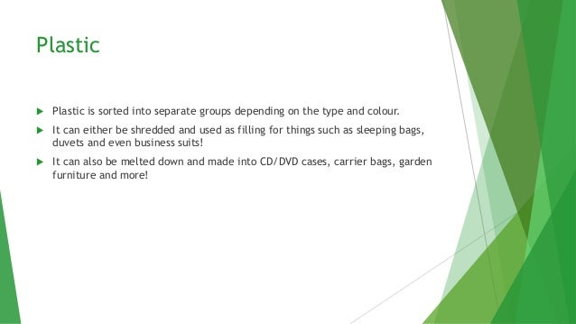 What Do Your Recycled Items Get Turned Into Slide 3