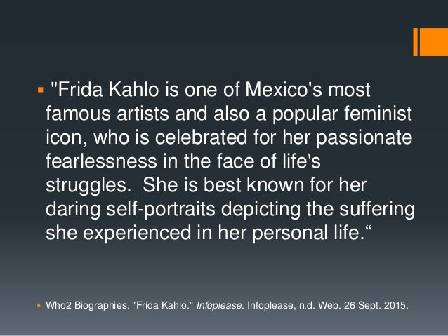 """ """"Frida Kahlo is one of Mexico's most famous artists and also a popular feminist icon, who is celebrated for her passiona..."""