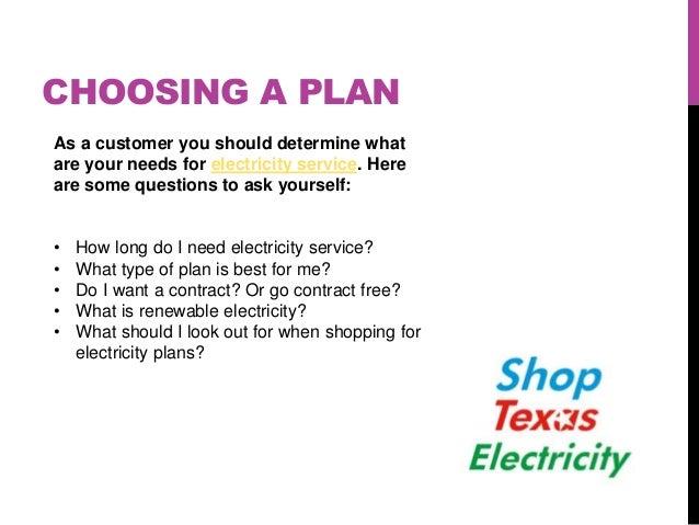 2. CHOOSING A PLAN ...