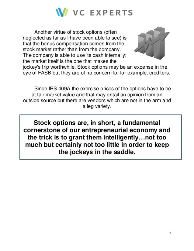 What i need to know about stock options