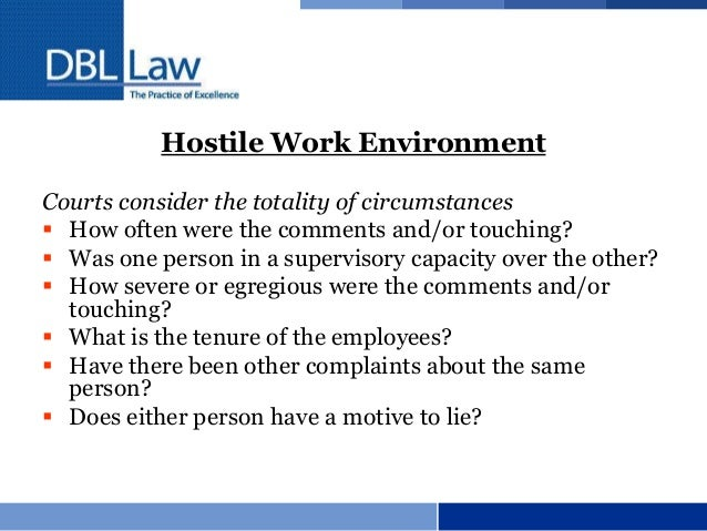 What Every Employer Should Know: Employment Law Basics
