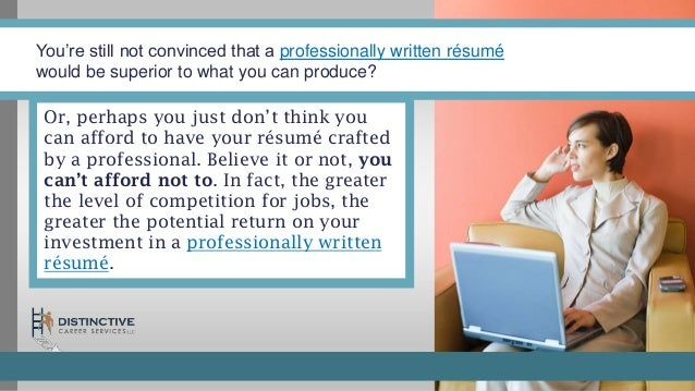 what every job seeker needs to know about hiring a professional resum