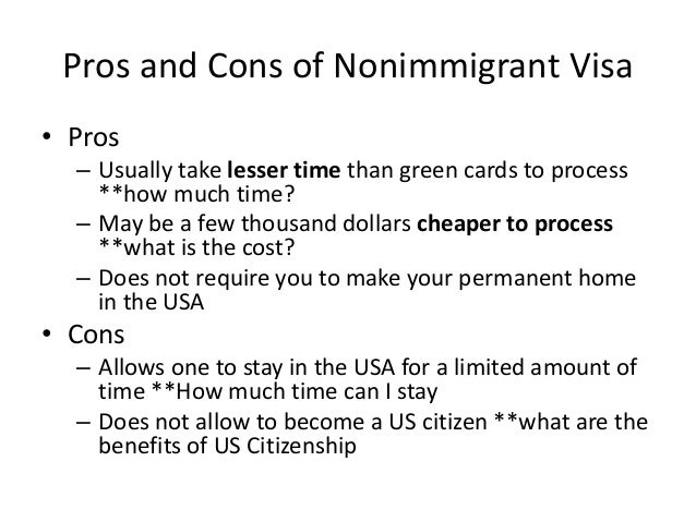 consequences of immigration