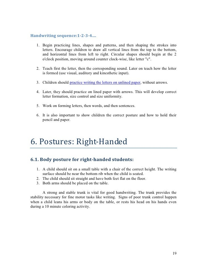 What Every Teacher Should Know About Handwriting – Vertical Handwriting Paper