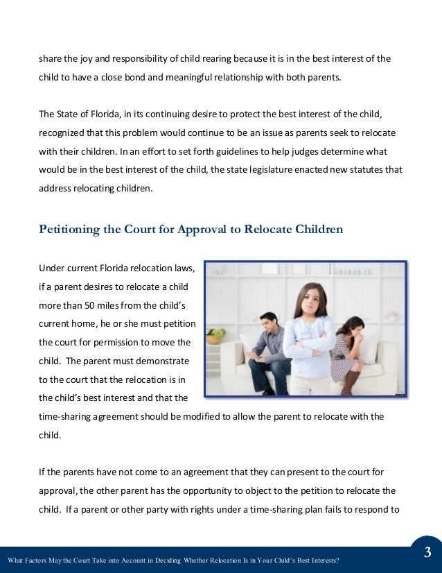 in a childs best interest Email: enquiries@farrercouk web: wwwfarrercouk a child's best interests: who decides rose spencer-longhurst parents are responsible for making a host of important decisions for their children - about their education, religion, medical treatment to name just a few these decisions can be hard and may become even.