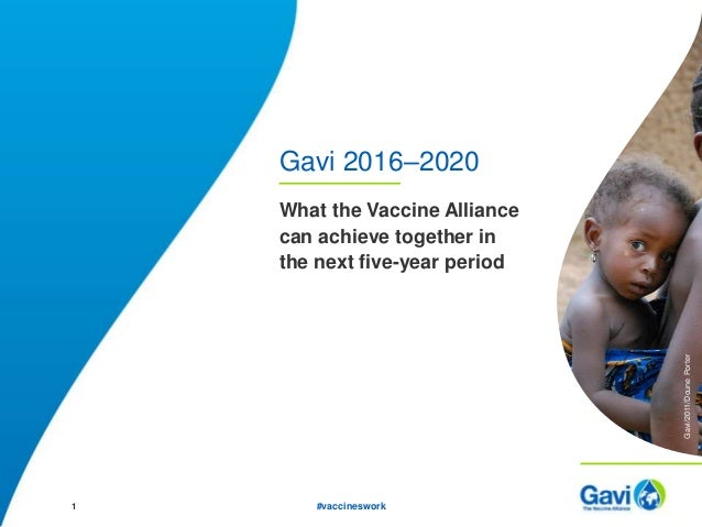 what gavi can achieve 2016 2020