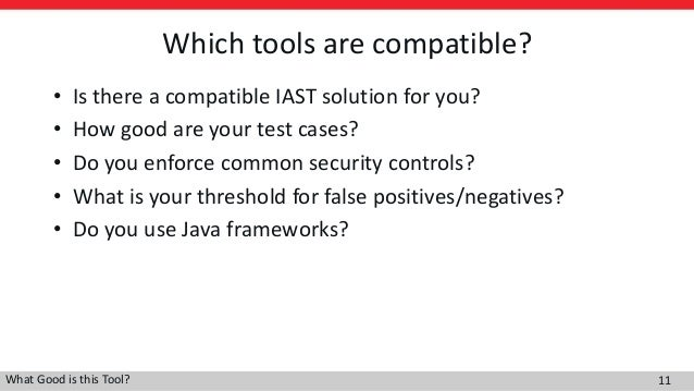 What Good is this Tool? A Guide to Choosing the Right Application Sec…