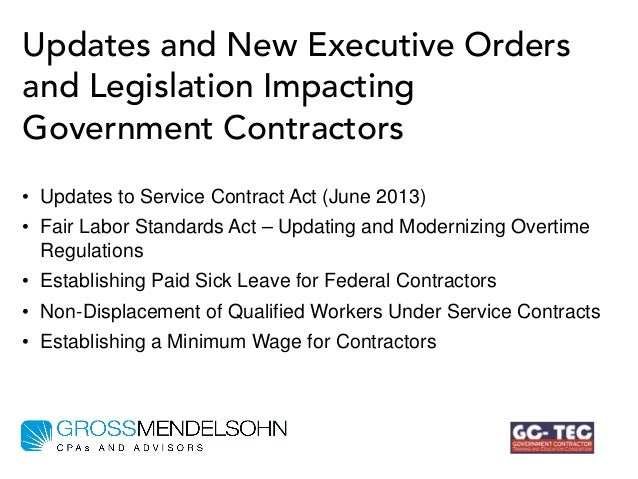 What Government Contractors Need to Do to Comply with New ...