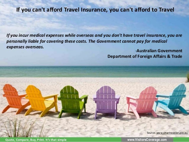Travel Insurance Advice by Government Authorities Slide 3