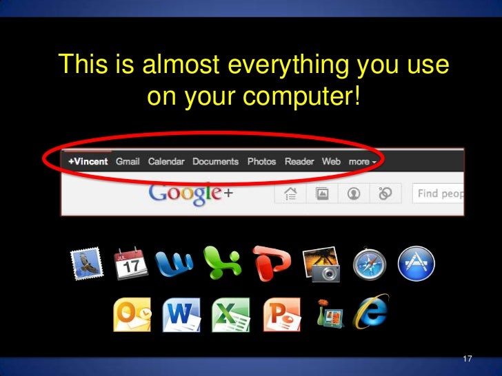 This is almost everything you use on your computer!<br />17<br />