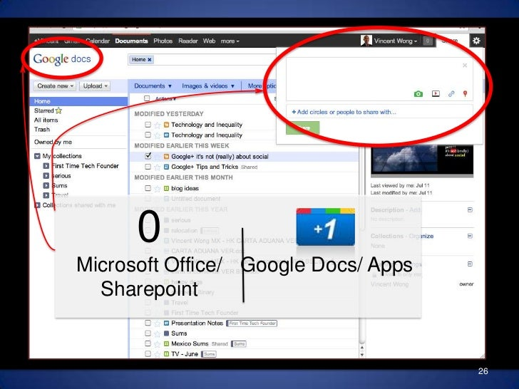 really about?<br />0Microsoft Office/ Sharepoint<br />Google Docs/ Apps<br />Sharingis theBlue Ocean<br />26<br />