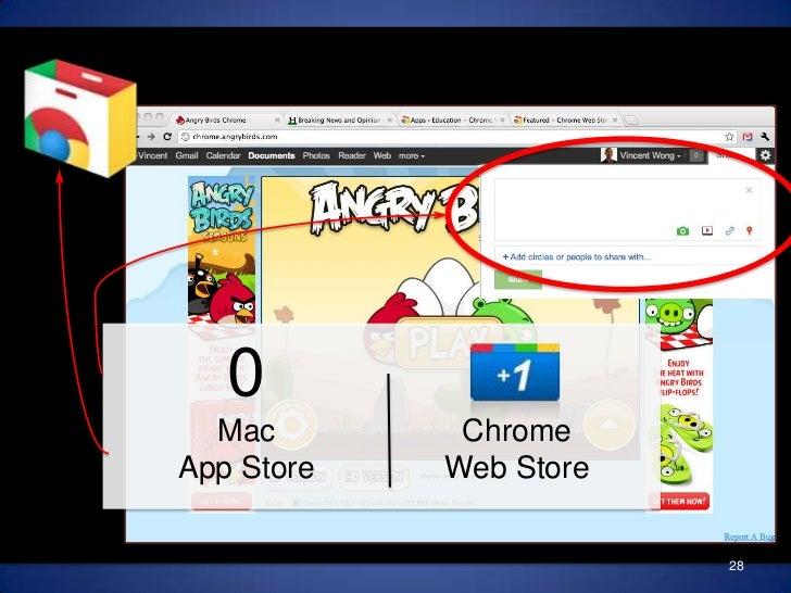 0MacApp Store<br />ChromeWeb Store<br />28<br />