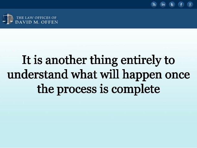 """' '  ,  'OFFICES or ' """" DAVID M.  OFFEN  It is another thing entirely to understand what will happen once the process is c..."""