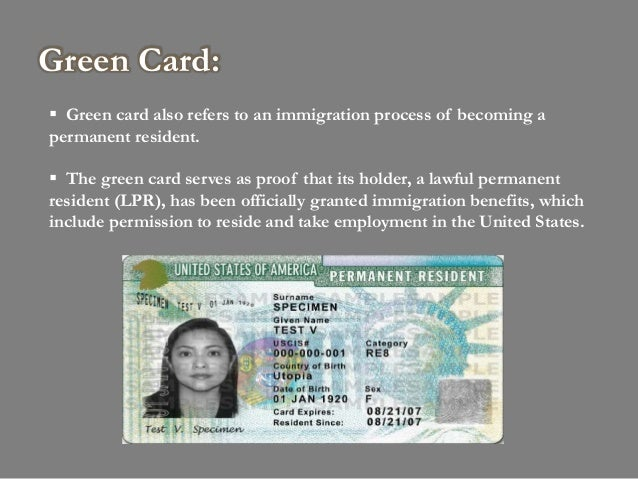 What Happens After Filing I Application To Replace Permanent Resident Card