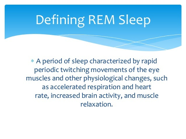 how to get rem sleep