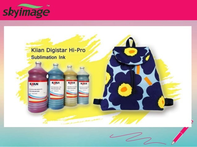 What impacts of sublimation ink quality