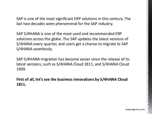 SAP is one of the most significant ERP solutions in this century. The last two decades were phenomenal for the SAP industr...