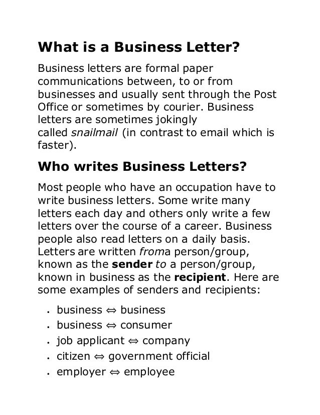 What is business paper