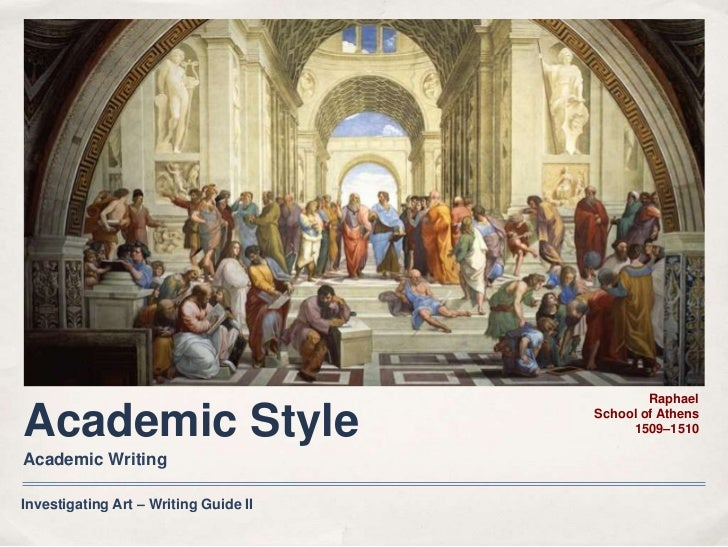 what is academic style