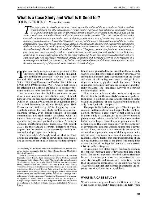 American Political Science Review                                                                        Vol. 98, No. 2   ...