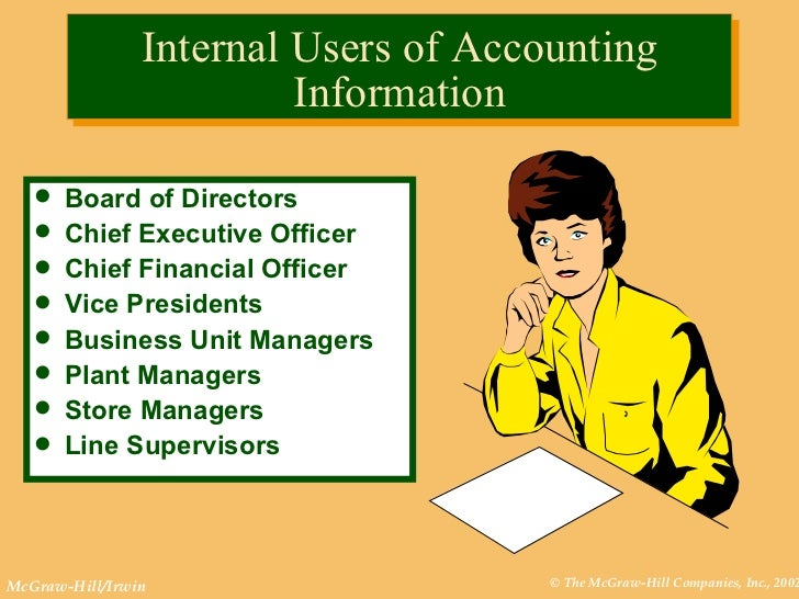 primary users financial accounting Financial accounting & reporting 1 3 1 standards and conceptual framework 1 cpa­00001 purpos  to the primary users of general purpose financial.